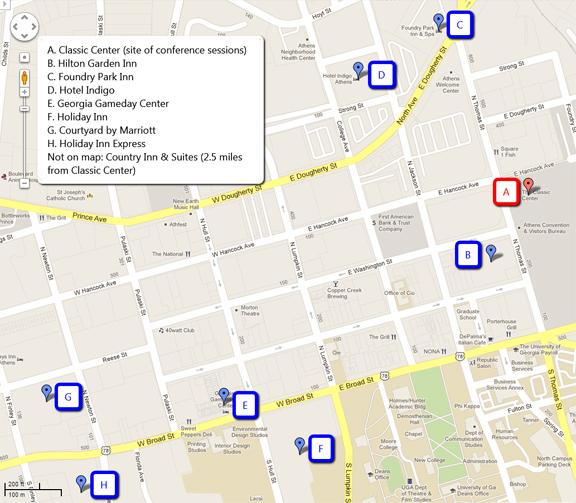 ELUNA 2013 Hotel Map