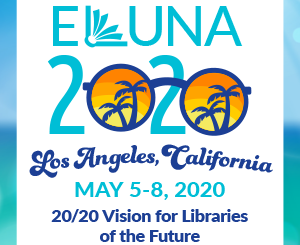 ELUNA 2020 logo Los Angeles May 5-8
